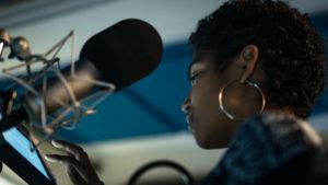 Audio drama studio recording