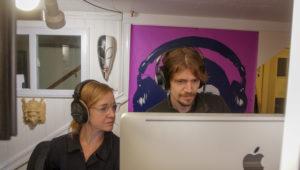 In studio with Dagaz Media