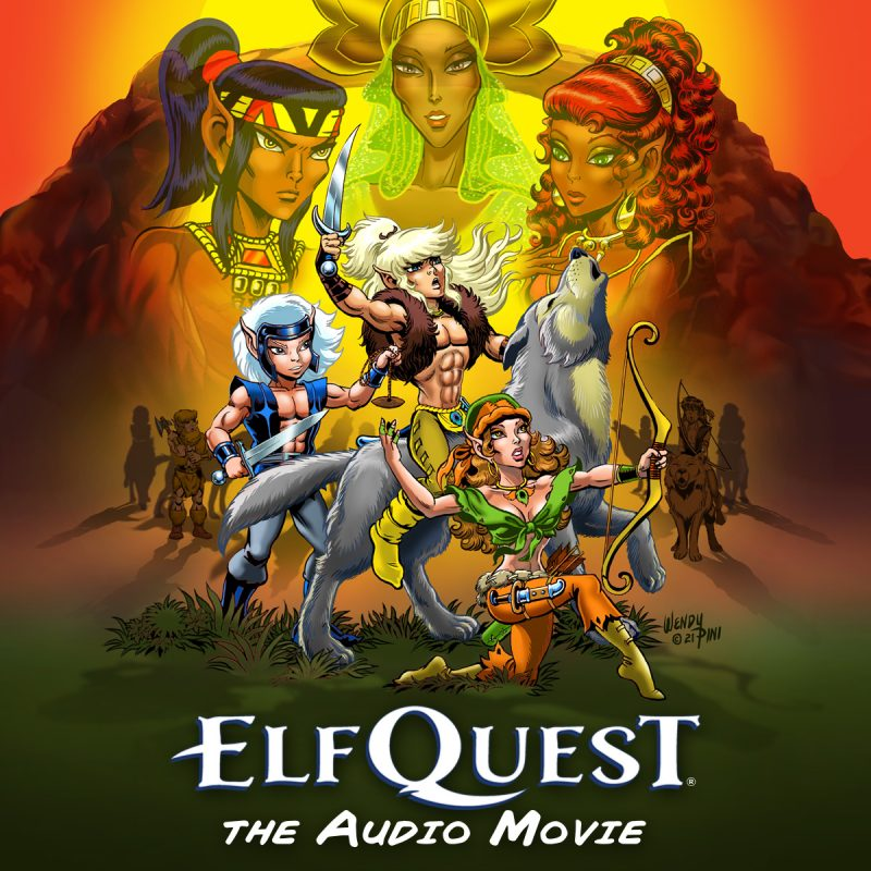 elfquest audio movie logo